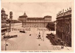 PIAZZA CASTELLO E PALAZZO REALE 1937 - Palazzo Reale