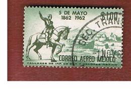 MESSICO (MEXICO) -  SG 1001   - 1962  PUEBLA BATTLE CENTENARY  -  USED° - Messico