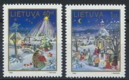 Litauen 597/98 ** Postfrisch - Lithuania
