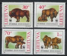 Litauen 599/602 ** Postfrisch - Lithuania