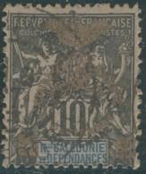 Nouvelle Calédonie 1903-1909 - N° 72A (YT) N° 66 (AM) Oblitéré. - New Caledonia