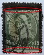 KING ALEXANDER-75 P-MEMORIJAL STAMPS-BLACK OVERPRINT-ERROR-ENGRAVERS NAME-RARE-YUGOSLAVIA-1934 - 1931-1941 Kingdom Of Yugoslavia