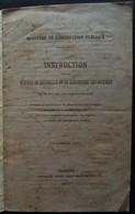 Guerre De 1870 - Instructions Sur La Manière De Receuillir Et De Conserver Les Graines - Chambéry 1871 - Savoie - Decrees & Laws