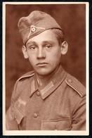 B6965 - Porträt 2. WK WW Uniform Kokarde - Max Förster Hosterwitz Dresden - Weltkrieg 1939-45