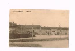 "Liège-Citadelle.Caserne.Expédié En Feldpost à Nuremberg.""Kgl.Bayr.Landsturm Ansbach"" - Casernes"
