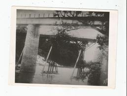 PAKSE (LAOS) BRIDGE FRENCH INDO CHINA . PAKE LAOS PONT EX INDOCHINE - Lieux