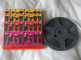 Super 8 Laurel Et Hardy En Wagon Lit Film Office - Bobines De Films: 35mm - 16mm - 9,5+8+S8mm