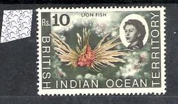 British Indian Ocean Territory 1968 Marine Life Definitives MNH CV £56 (2 Scans) - British Indian Ocean Territory (BIOT)