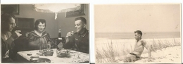 Photos Werhmacht WW2 , Oberfeldwebel , , LACANEAU 1944 . ( Lot De 2 ) - 1939-45