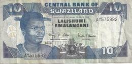 Swaziland 10 Emalangeni 01-04-04 - Swaziland