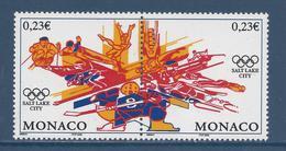 Monaco - YT N° 2336 Et 2337 - Neuf Sans Charnière - 2002 - Monaco
