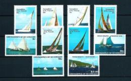 Granadinas (St. Vincent)  Nº Yvert  532/7-538/41  En Nuevo - St.Vincent Y Las Granadinas