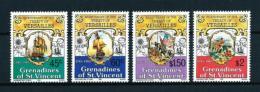 Granadinas (St. Vincent)  Nº Yvert  271/4  En Nuevo - St.Vincent Y Las Granadinas