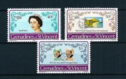 Granadinas (St. Vincent)  Nº Yvert  179/81  En Nuevo - St.Vincent Y Las Granadinas