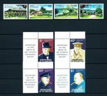 Granadinas (St. Vincent)  Nº Yvert  52/5-56/9  En Nuevo - St.Vincent Y Las Granadinas