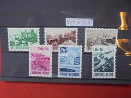 BELGIQUE COB N° 918-923 NEUF MNH** - Belgium