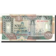 Billet, Somalie, 50 N Shilin = 50 N Shillings, 1991, 1991, KM:R2, SPL+ - Somalie