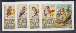 C3. S. Tome E Principe - MNH  -  Animals & Fauna - Birds - Owls - DELUX - Owls