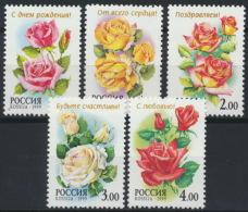 Russland 734/38 ** Postfrisch - 1992-.... Föderation