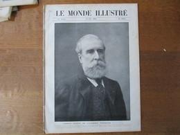 LE MONDE ILLUSTRE N°2668 16 MAI 1908 LUDOVIC HALEVY,LA SCULPTURE AUX SALONS,LES EVENEMENTS DU MAROC,RICHARD STRAUSS - Books, Magazines, Comics