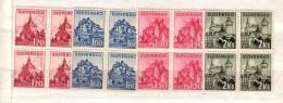 1941 Slovak Towns  Mi 81/84 4v.-MNH    Block Of Four Slovaquie / Slovakia - Ungebraucht
