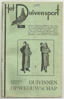 Hove - Het Duivensport   *   12 Maanduitgaves , Jaargang 1947 ( Duivensport - Duiven - Duif - Pigeon) - Hove