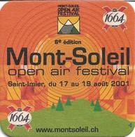 SOUS-BOCKS - 1664 (Bière De France) 6e édition MONT-SOLEIL Open Air Festival, Neuf. - Sous-bocks