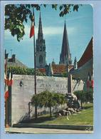 Chartres (28) Monument Dédié à Jean Moulin (flèches De La Cathédrale) 2 Scans - Chartres