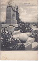 Auboncourt - Gedenkstein Für Die Kämpfe Vom 30.8.1914 Vor Rethel - Feldpost  Der 3. K.S. Div. 32, - AK-09636 - Monuments Aux Morts