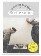 Carte Publicitaire Eurostar - I'D BEEN TOLD TO BE WARY ... MONTMARTRE - échecs Chess - Scacchi