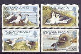 Naa0968 FAUNA VOGELS ALBATROSS BIRDS VÖGEL AVES OISEAUX DEPENDENCIES FALKLAND ISLANDS 1985 PF/MNH - Marine Web-footed Birds