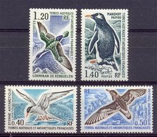 Naa0982 VOGELS BIRDS STERN PENGUIN VÖGEL AVES TAAF TERRES AUSTRALES ET ANTARCTIQUES FRANCAISES 1976 PF/MNH+ONG/MH - Marine Web-footed Birds
