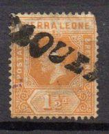 SIERRA LEONE ( POSTE ) : N° Y&T  91  TIMBRE  BIEN  OBLITERE  . - Sierra Leone (...-1960)