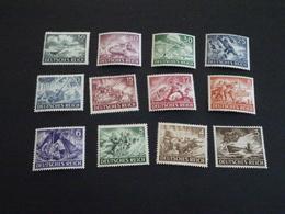 K15826- Set MNH Deutsche Reich - 1943 SC. B218 -  229 Army Day And Hero Memorial Day - Neufs