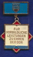 DDR Orden FDJ Für Vorbildliche Leistungen - Medaillen & Ehrenzeichen