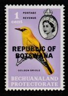 "Botswana 1966 Betschuanaland Postage Stamps Overprinted ""REPUBLIC OF BOTSWANA"" 1 C Multicoloured SW 5 ** MNH - Botswana (1966-...)"