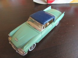 Solido / Hachette - Voiture Miniature Studebaker Silver Hawk 1957 Avec Boîte - Echelle 1/43 Eme - Toy Memorabilia