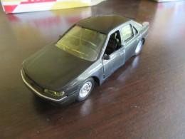 Solido / Hachette - Voiture Miniature Peugeot 605 1989 Avec Boîte - Echelle 1/43 Eme - Toy Memorabilia