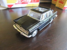 Solido / Hachette - Voiture Miniature Simca Presidence 1958 Avec Boîte - Echelle 1/43 Eme - Toy Memorabilia