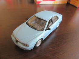 Solido / Hachette - Voiture Miniature Alfa Romeo 156 1998 Avec Boîte - Echelle 1/43 Eme - Toy Memorabilia