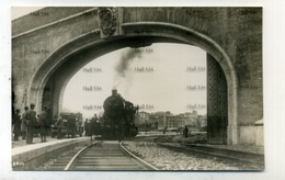 Vatican Rome Italy Steam Locomotive Entering Vatican Railway Station 1934 Postcard By Locomotive Publishing Co - Vatican