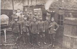 Soldatengruppe 1 M G R , Inf. R. 82 - Feldpost 1917  - AK-09643 - Regimientos