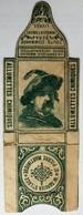 Rare étiquette Boîte D'allumettes Chimiques W. Gravier Sainte Luce Saint Pierre Martinique Portrait Personnage - Cajas De Cerillas - Etiquetas