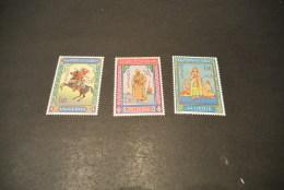 K15874-set  MNH ALGERIA. 1966  SC. 362-364 - Miniatures By Mohammed Racim - Algerien (1962-...)