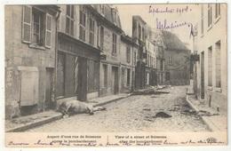 02 - Aspect D'une Rue De SOISSONS Après Le Bombardement - ELD - 1914 - Soissons