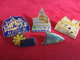5 Pin's La Poste - Pin's