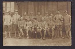 CPA PHOTO MILITAIRE - TB PLAN D'un GROUPE En CP Photographique 49 ème Et 52 ème Régiments 1918 GUERRE 14-18 - Regiments