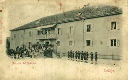 PALAZZO DEL PRINCIPE CETINJE  Cetinje / Cettigne,  MONTENEGRO - Montenegro