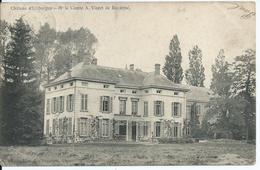 Kasteel Van UITBERGEN - Verstuurd Vanuit Wichelen 1908 - Wichelen