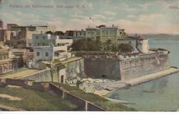 POSTAL DEL PALACIO DEL GOBERNADOR DE SAN JUAN DEL AÑO 1912 (PUERTO RICO) - Puerto Rico